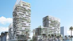 Proposta para 260 unidades habitacionais em Casablanca, Marrocos, por Herreros Arquitectos