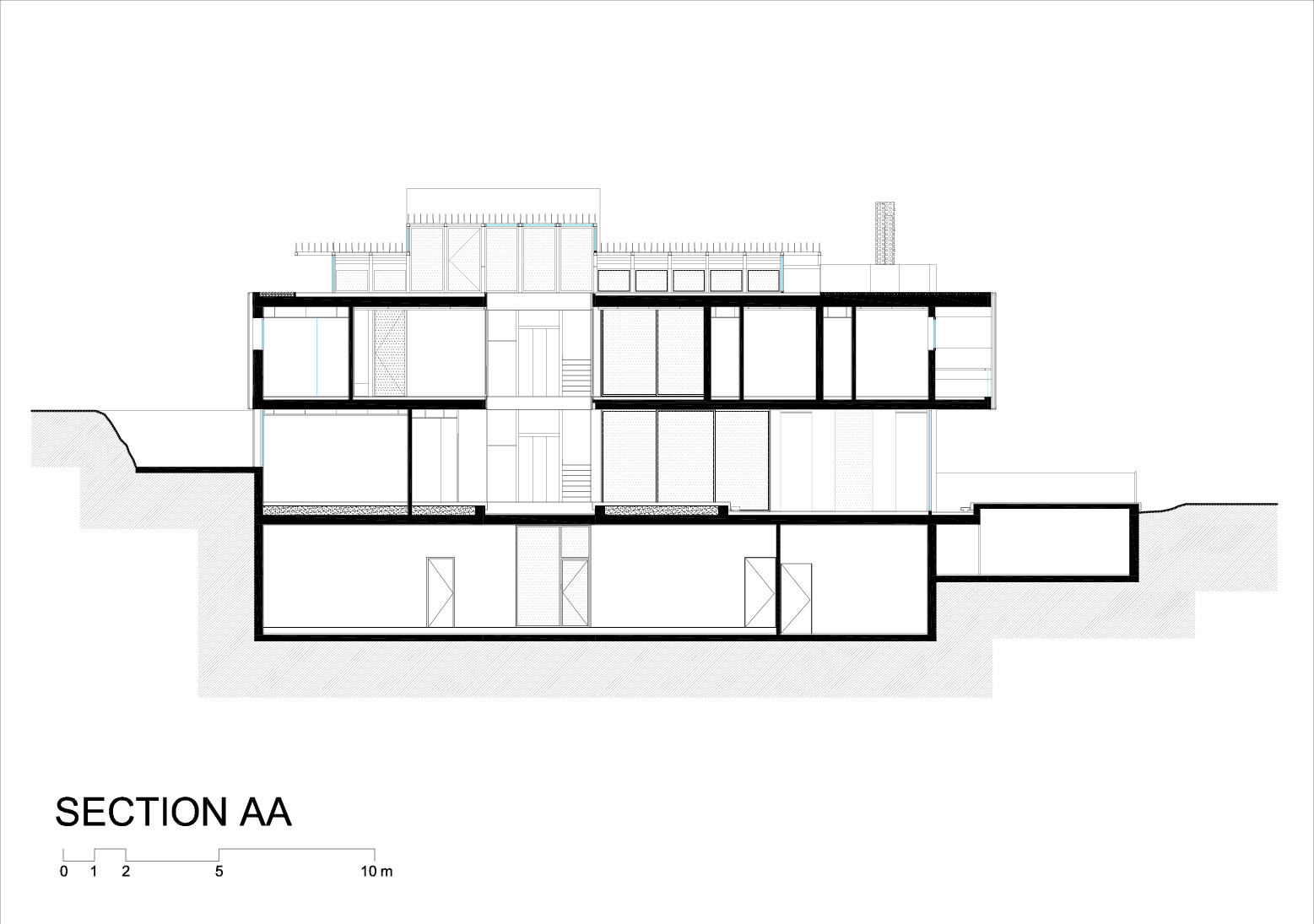 Villa Savoye Front Elevation : Gallery of tahan villa blankpage architects