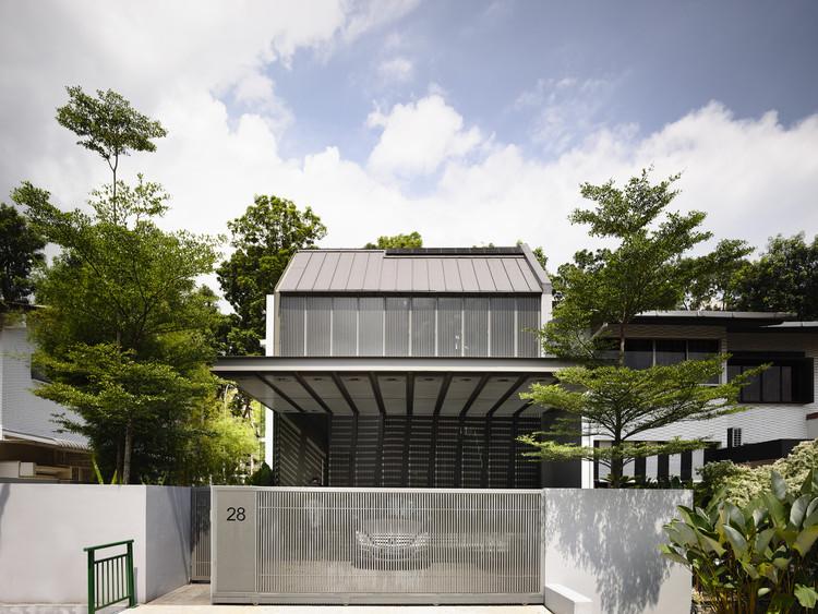 Casa na Av. Faber / Hyla Architects, © Derek Swalwell
