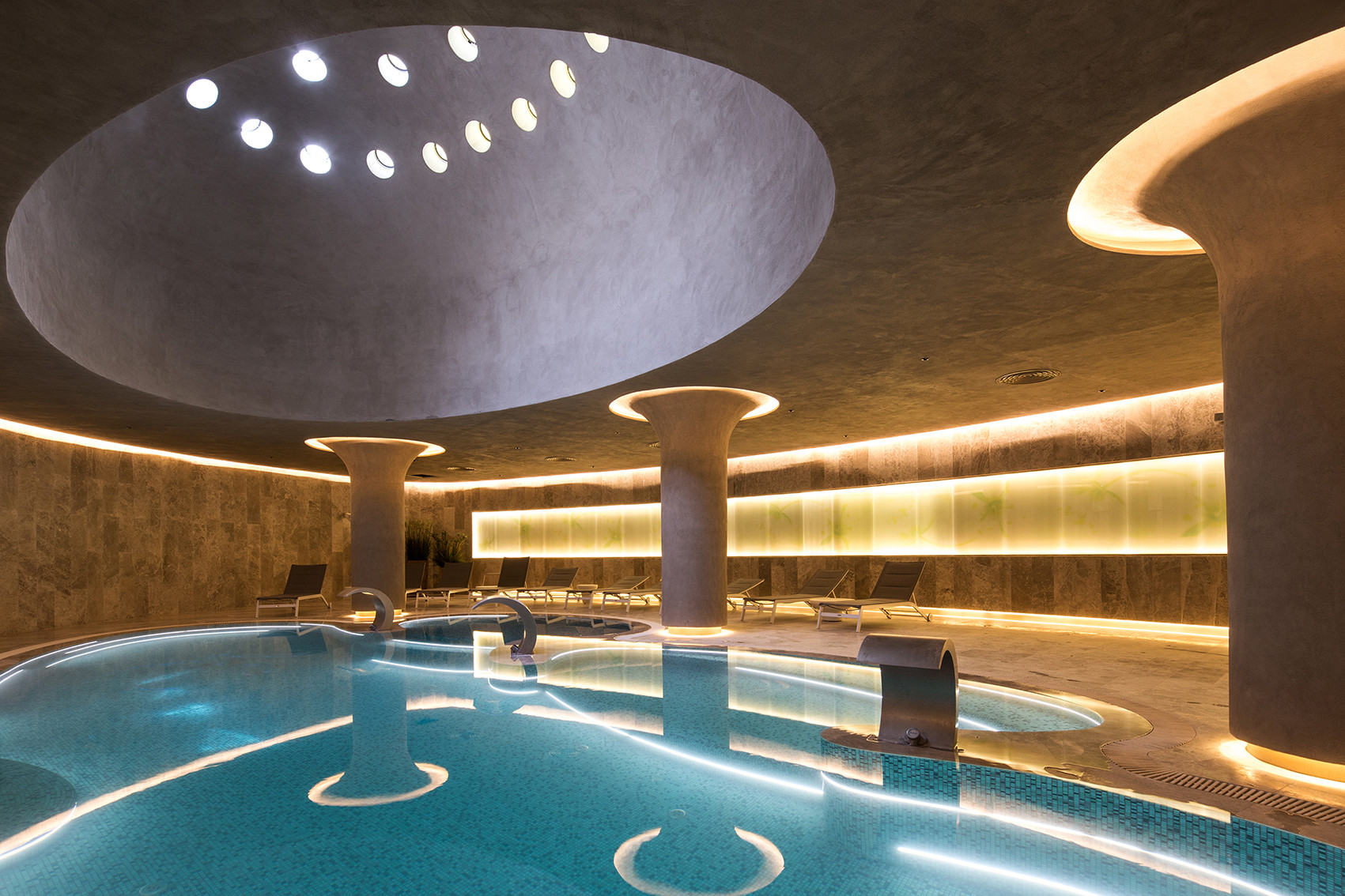 Eskisehir hotel and spa gad architecture archdaily for Spa design hotel