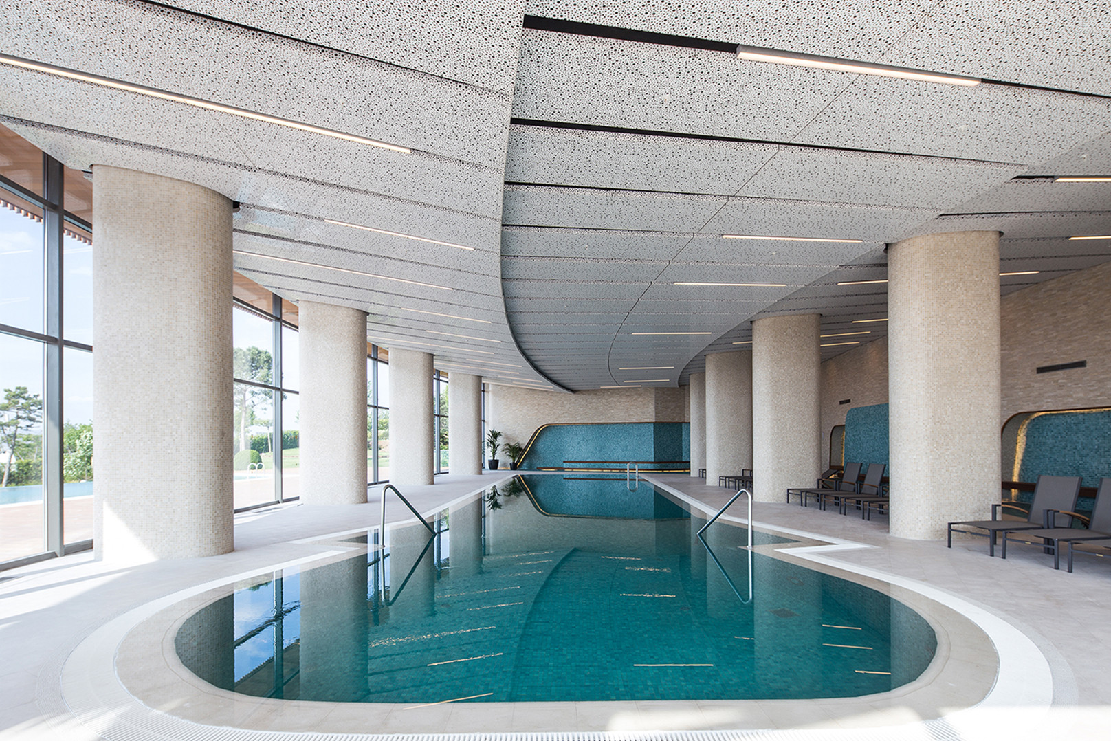 Gallery of eskisehir hotel and spa gad architecture 3 for Salon architecture