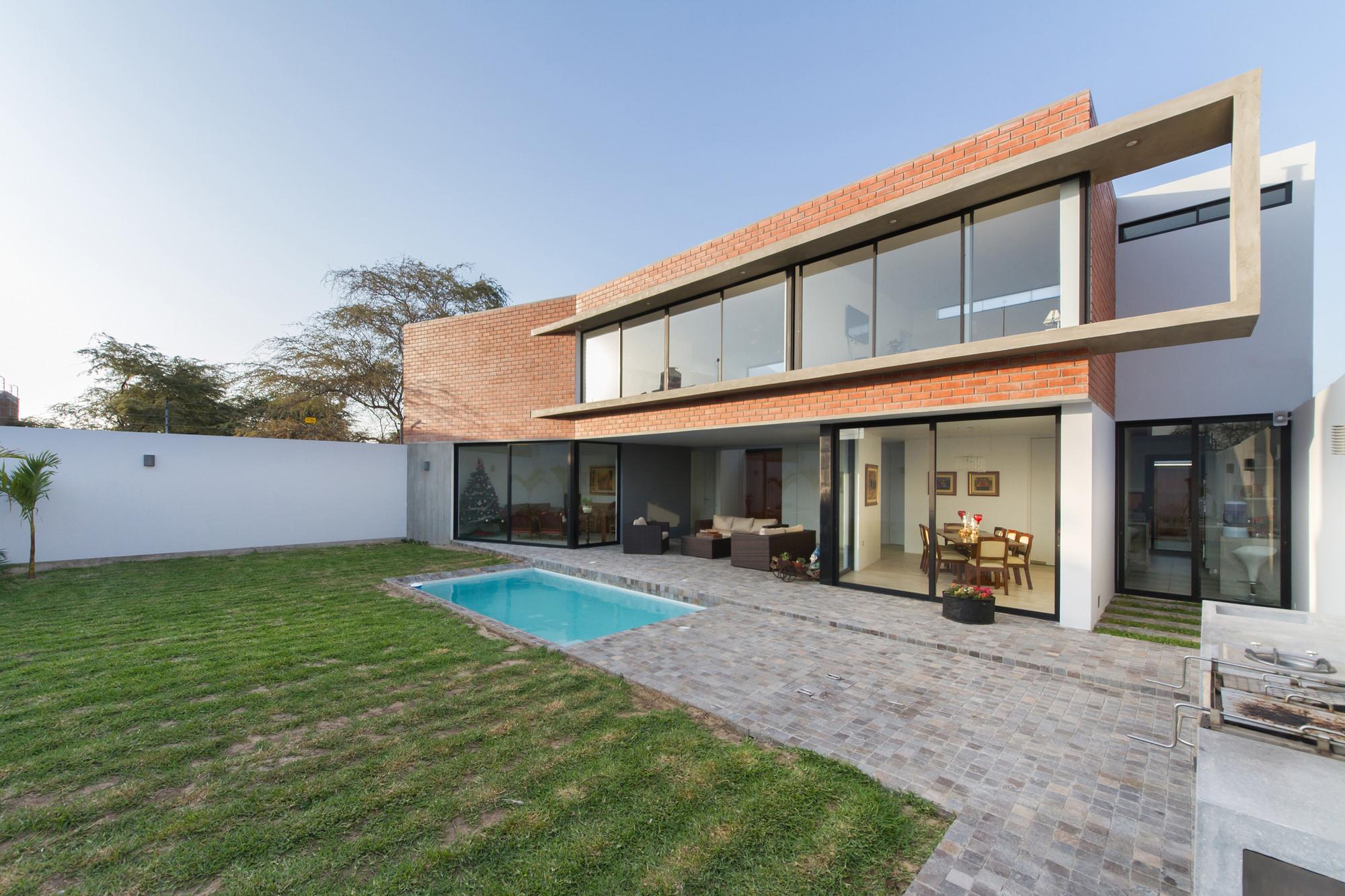 Galeria de casa lb piura riofrio rodrigo arquitectos 12 for Arquitectos para casas