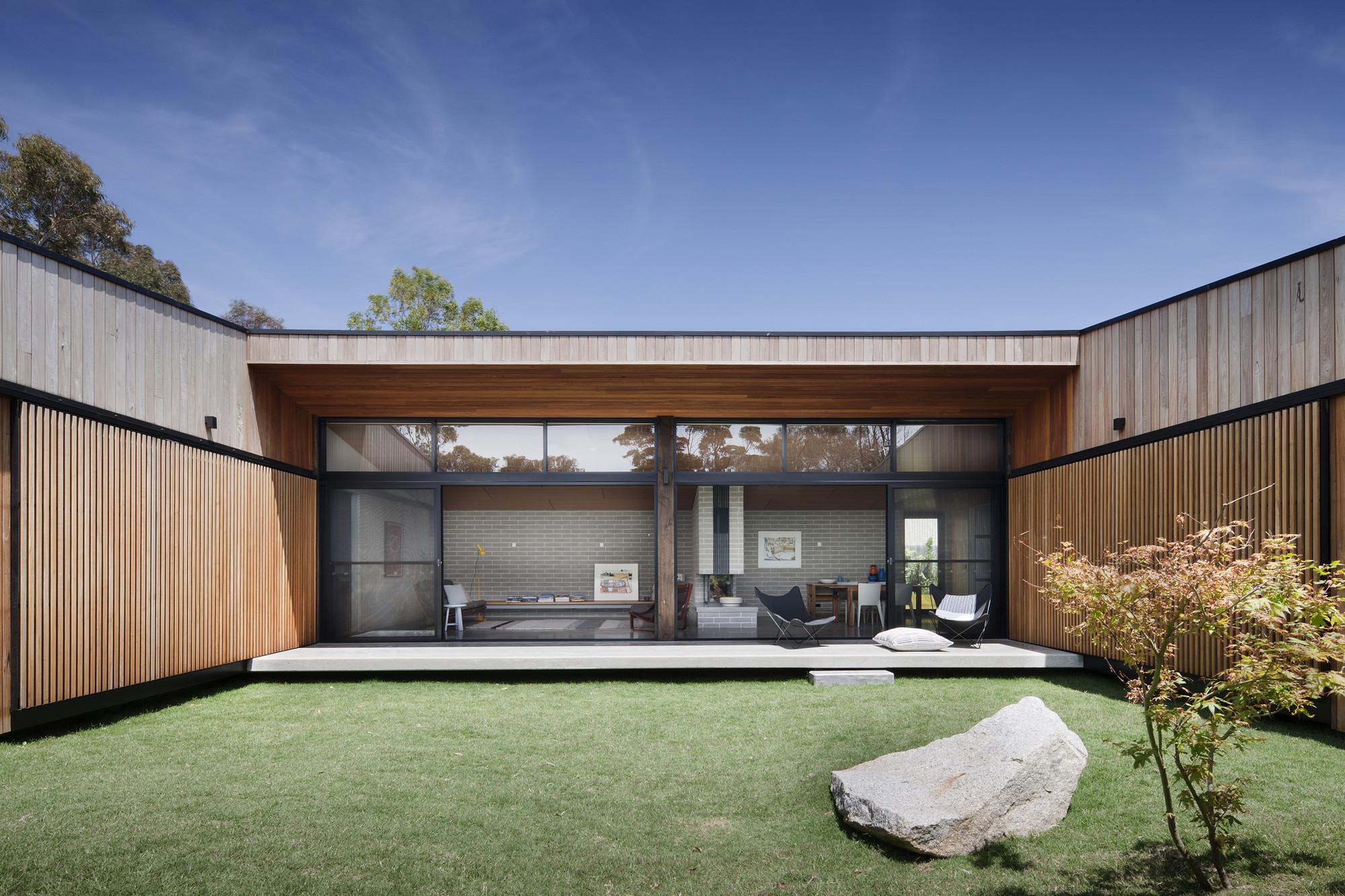 Galeria De Casa Hover Bower Architecture 11