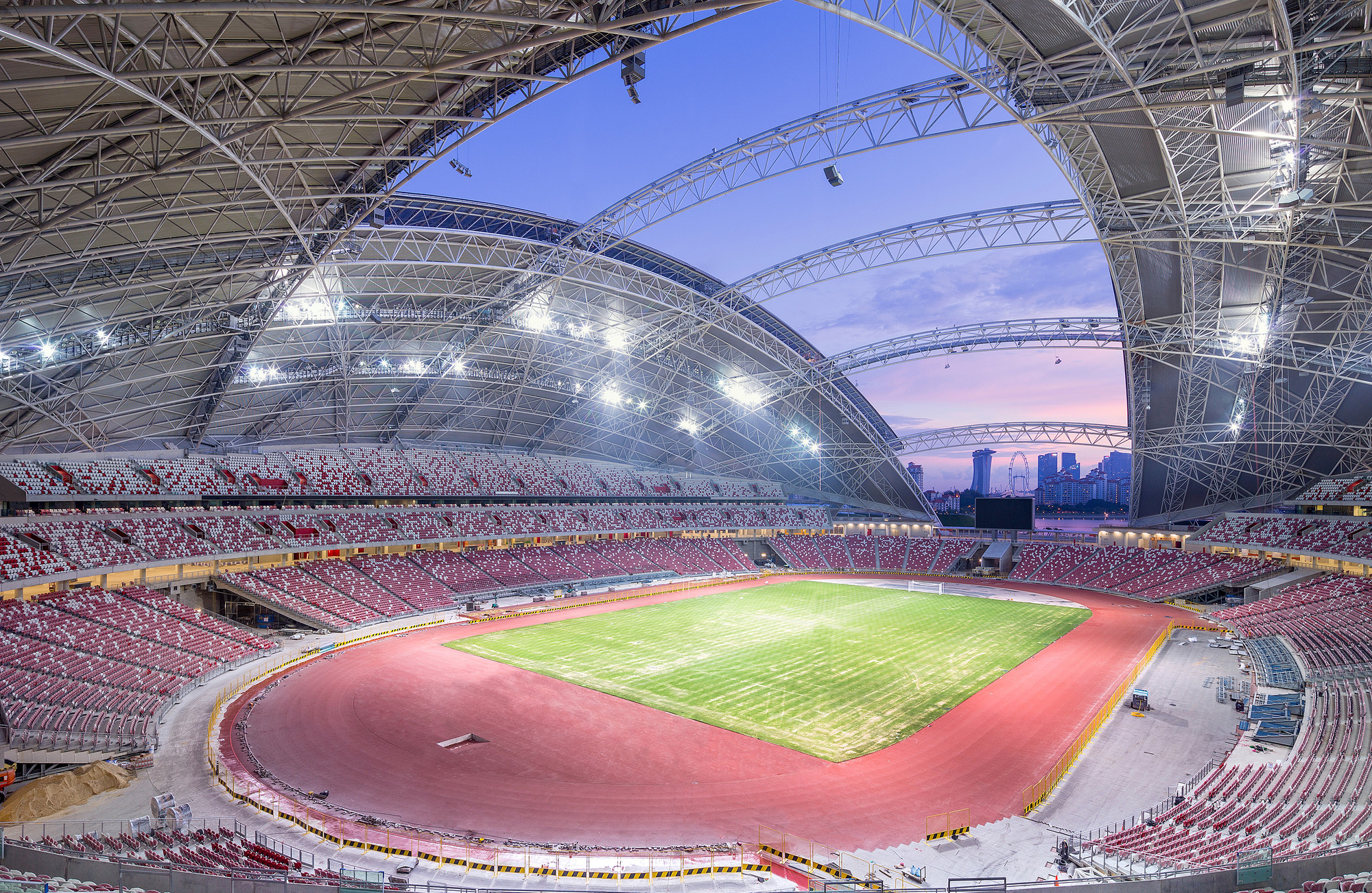 Singapore Sportshub Dparchitects Archdaily
