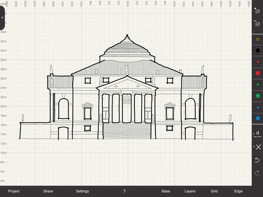 Palladio's Villa Rotunda. Image Courtesy of Arrette Scale