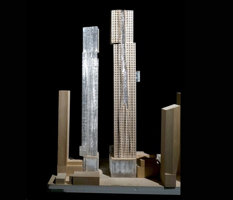 Revised Design Unveiled for Toronto's Mirvish+Gehry Towers, Courtesy of Mirvish Enterprises, Gehry Partners, LLP and Projectcore Inc.