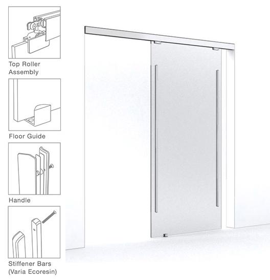 Materiales revestimientos transl cidos plataforma - Carril para puerta corredera ...