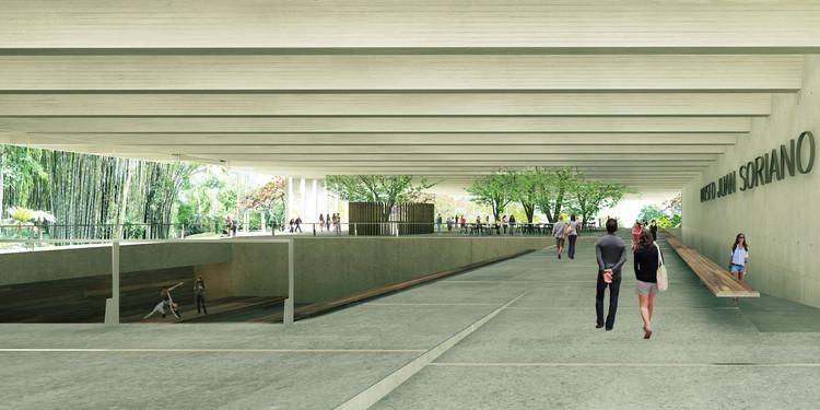 Propuesta Museo Juan Soriano / Alejandro Sánchez García - Taller 6A, Cortesía Taller 6A