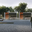 Şahindere War Cemetary. Image © ONZ Architects & MDesign