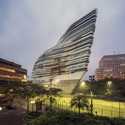 Jockey Club Innovation Tower / Zaha Hadid Architects. Image © Doublespace