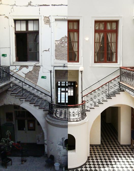 Restauración y renovación del Edificio Moneda 759, Teatro Municipal de Santiago de Chile, © María Paz Carvajal V.