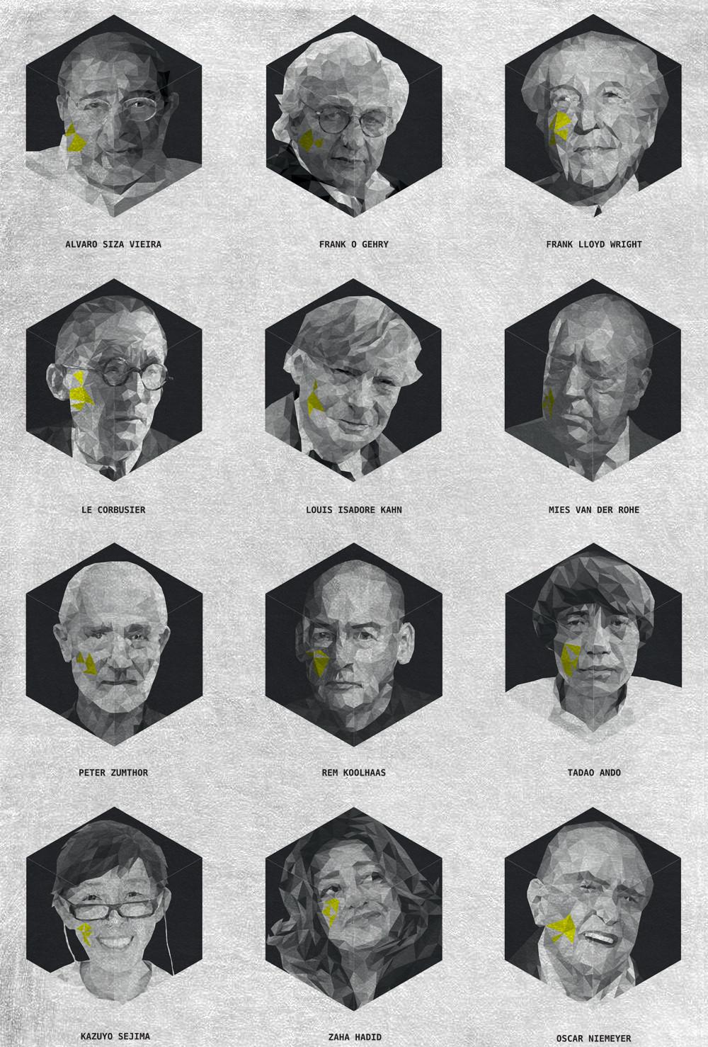 Arte y arquitectura cara una serie de arquitectos - Arquitectos famosos espanoles ...