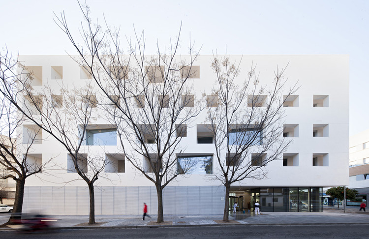 Centro de Ensino para a Universidade de Córdoba / Rafael de La-Hoz, © Javier Callejas