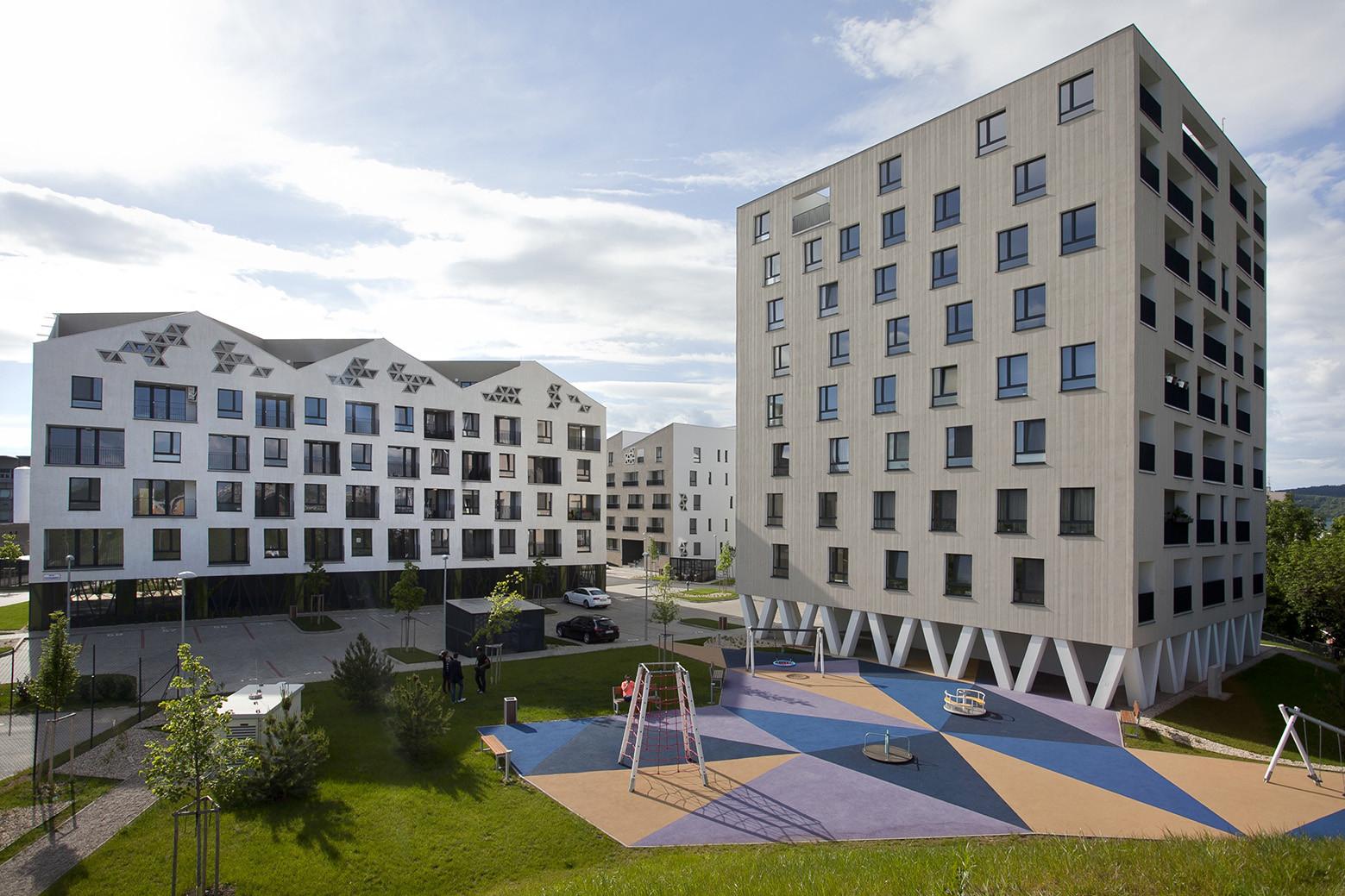 Residential complex Nová Terasa / Vallo Sadovsky Architects, © Tomáš Manina