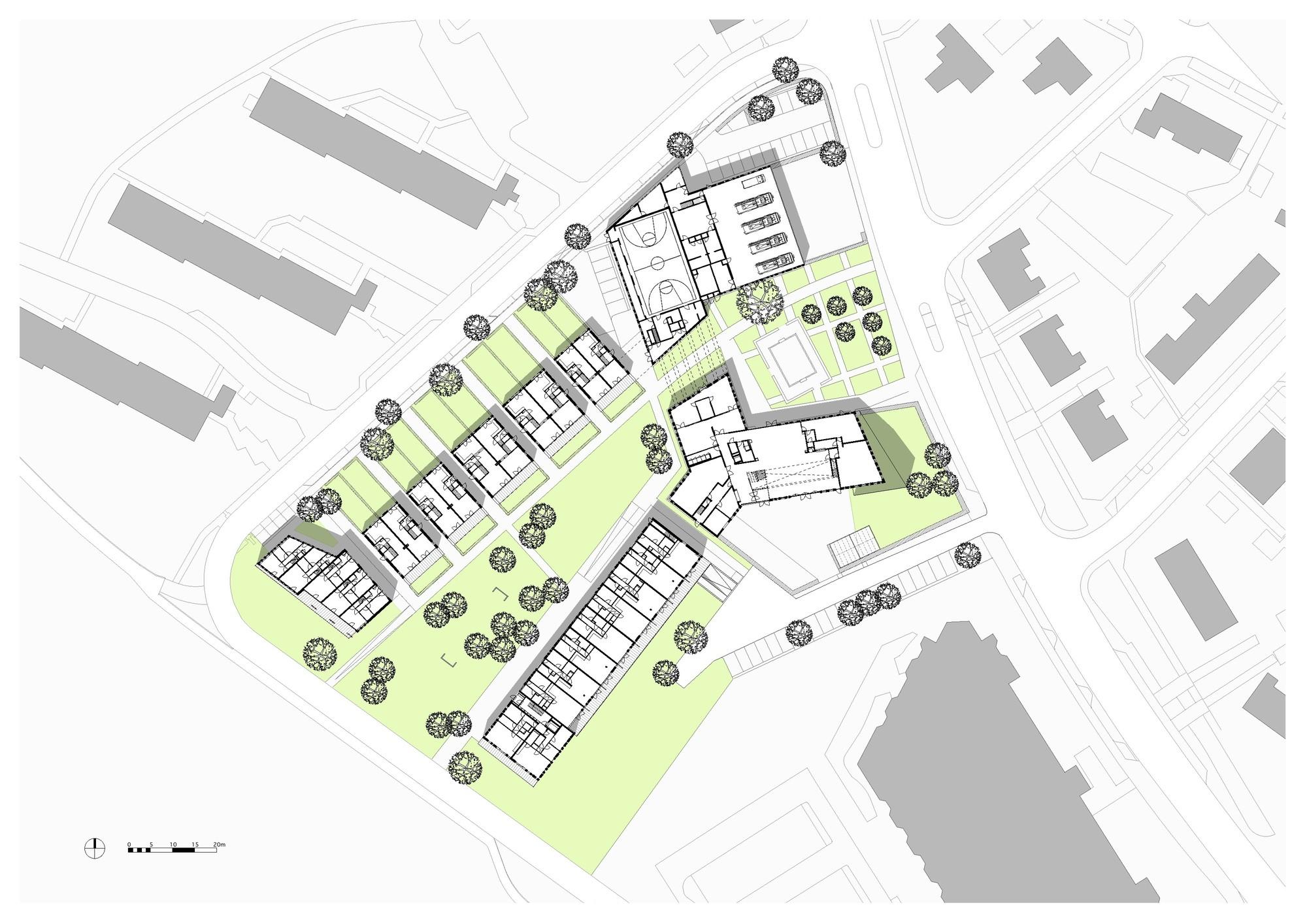 Scenic Ensemble Bloemershof Bekkering Adams Architects