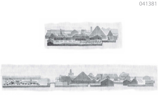 Winner of the competition, Dacha in a Dvor by Megabudka. Image Courtesy of The Morton Group