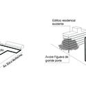 Diagrama - situação existente. Image Courtesy of Equipe do projeto