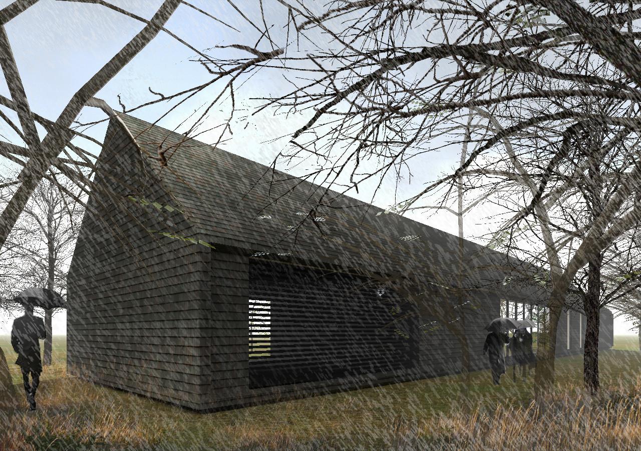 Cuatro destacados arquitectos chilenos son escogidos para proyecto Patagonia Virgin, Propuesta de Felipe Assadi. Image Courtesy of Patagonia Virgin