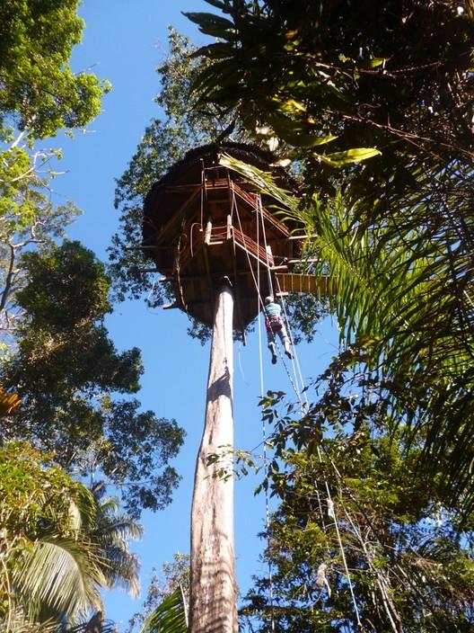 Treehouse Lodge: Imponentes estructuras de madera para adentrarse en la selva amazónica del Perú, © Treehouse