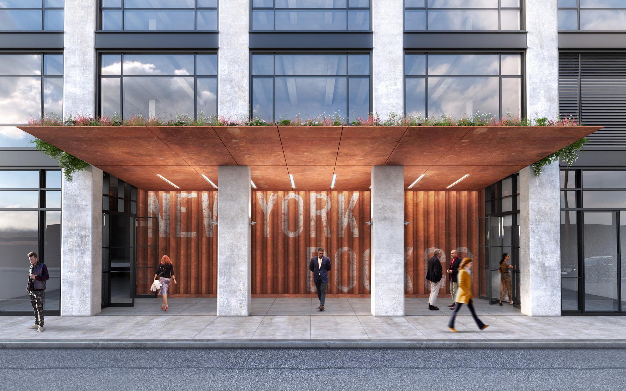 gallery of aa studio designs redevelopment of disused dock building 5. Black Bedroom Furniture Sets. Home Design Ideas