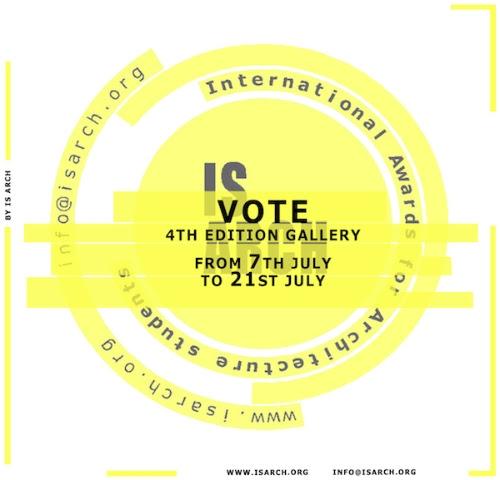Premios IS ARCH: ¡votaciones públicas ya abiertas!