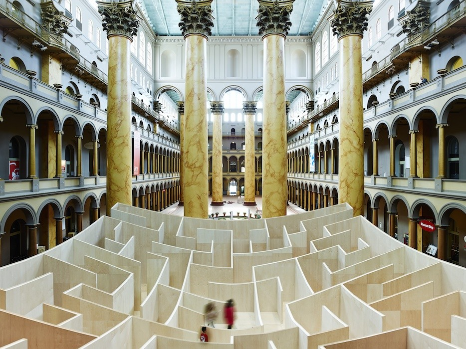 Big Maze Opens At National Building Museum Archdaily