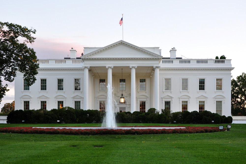 The Power of Paint: Three Case Studies on Colour in Architecture, The White House in Washington, DC, USA. Image © Joe Ravi via shutterstock.com