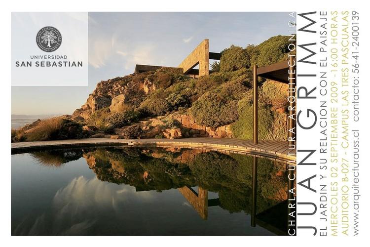 El jardín y su relación con el paisaje: Juan Grimm