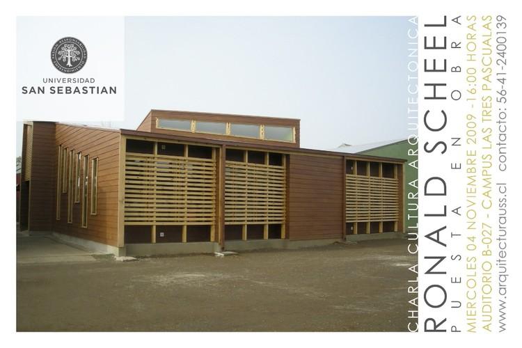 Charla Cultura Arquitectónica - Ronald Scheel