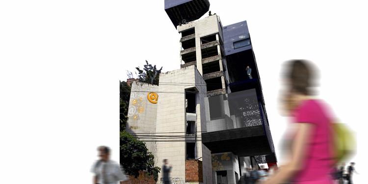 Narco_arquitectura como Patrimonio Cultural: Re_construcción del edificio Dallas en la ciudad de Medellín