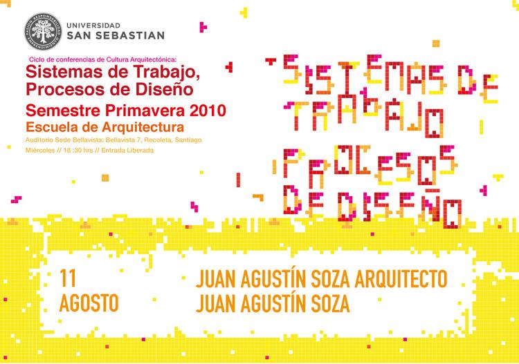 Conferencia Ciclos de Cultura Arquitectónica: Sistemas de trabajo, Procesos de Diseño
