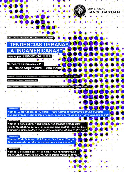 """Ciclo de Conferencias sobre la Ciudad: """"Tendencias Urbanas Latinoamericanas"""""""
