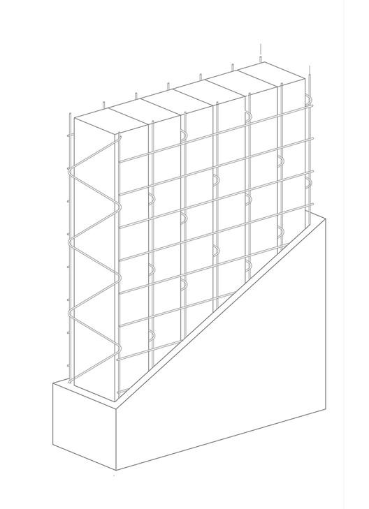 Paneles Covintec: sistema de paneles estructurales con barrera térmica y acústica, Isométrica Panel estructural