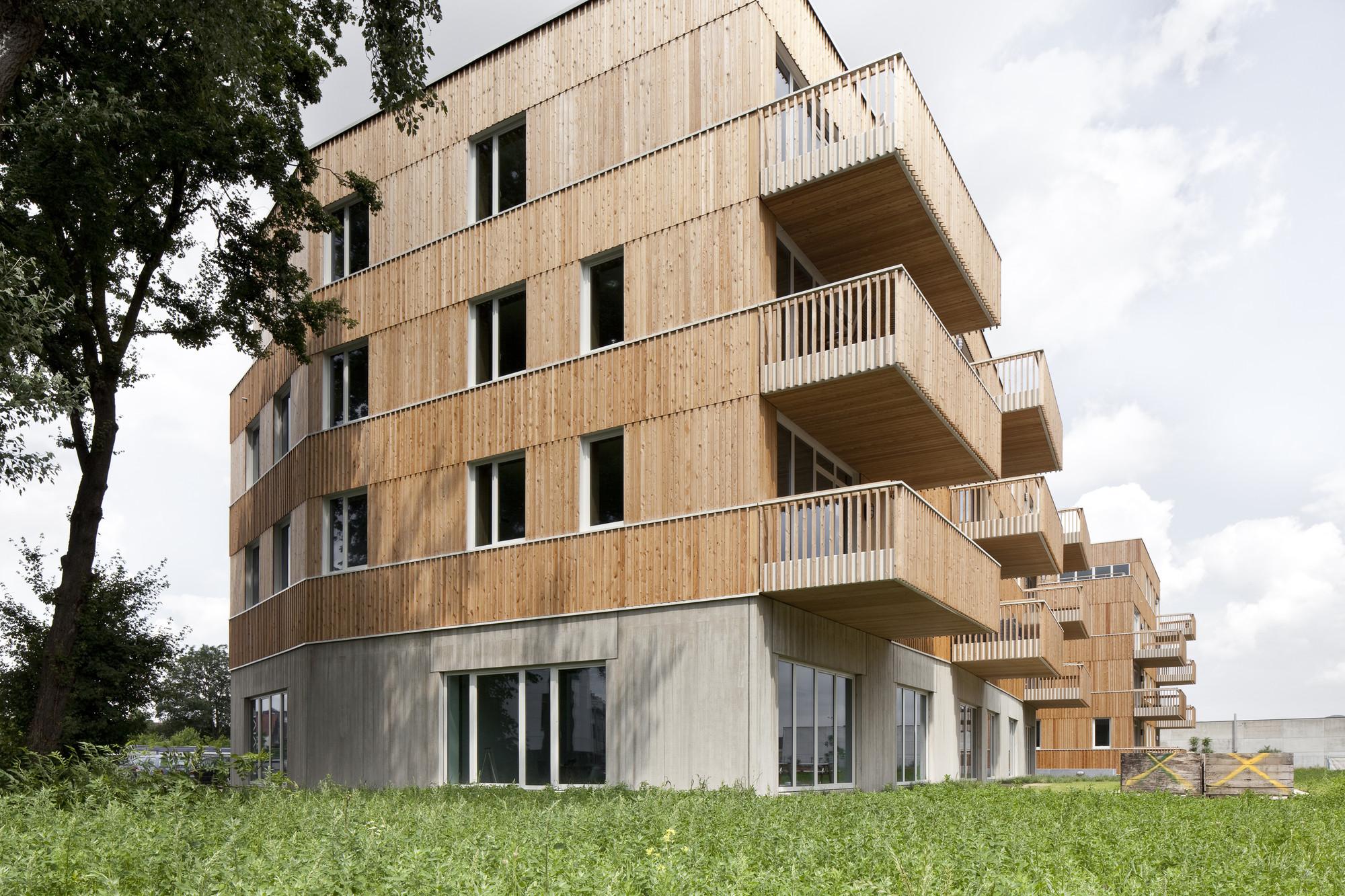 "WGTG - Residential building ""Den Draad"" / HUB, © Ilse Liekens"