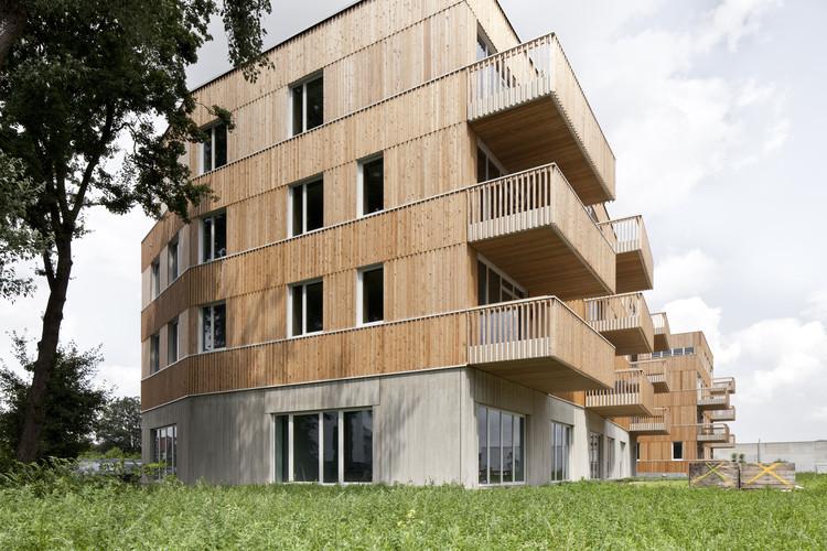 """WGTG - Edificio de Viviendas """"Den Draad"""" / HUB, © Ilse Liekens"""