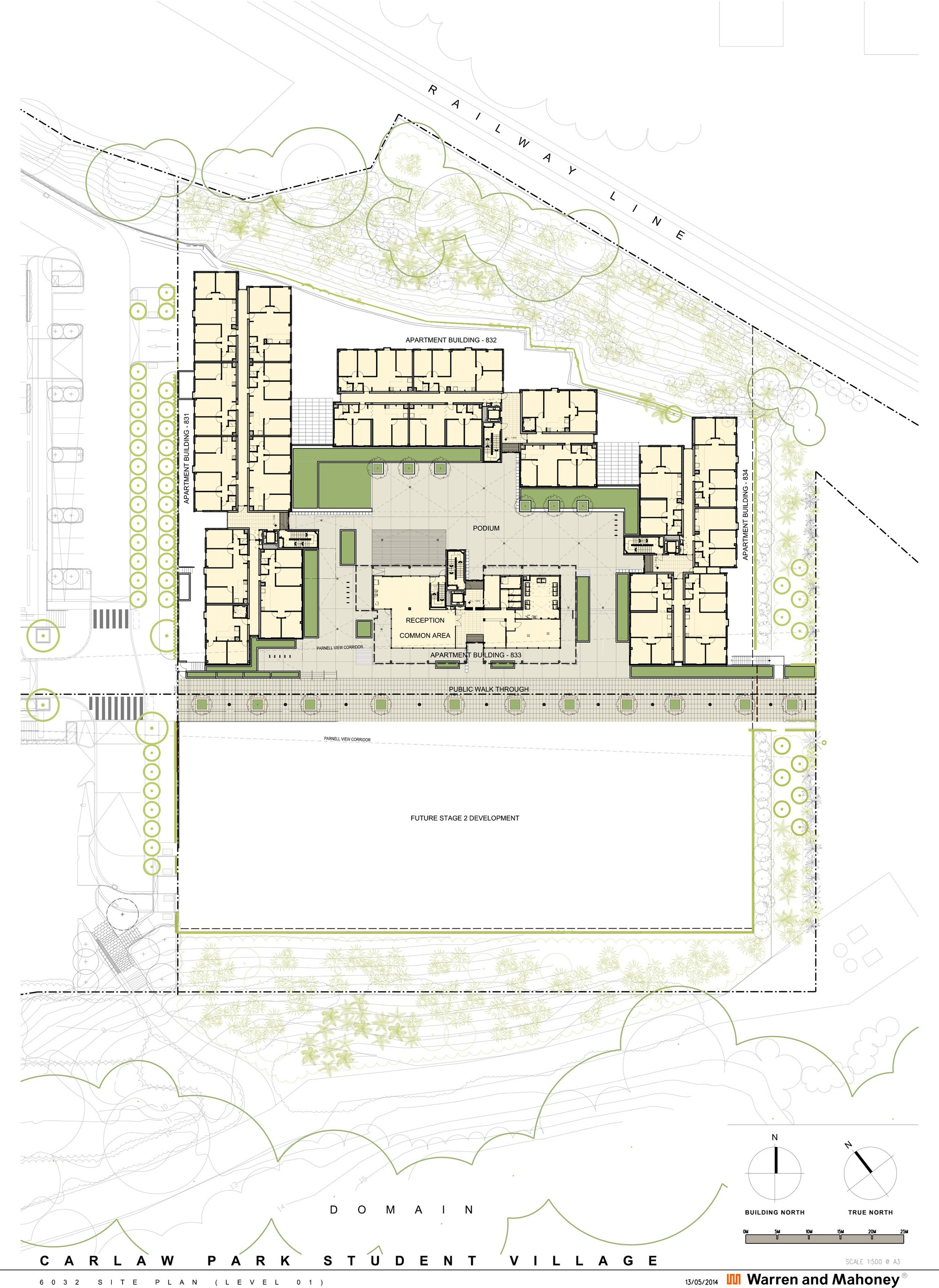 Louvre Floor Plan Gallery Of Carlaw Park Student Accommodation Warren And