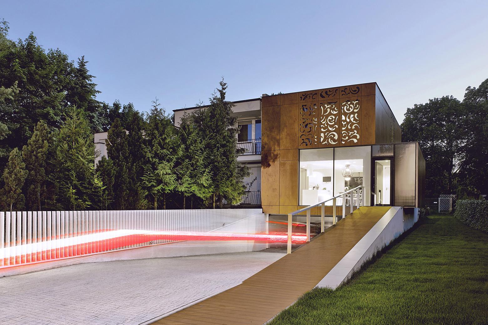 Perforated House / Piotr Kluj + Paweł Litwinowicz , © Jeremi Buczkowski