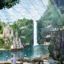 Parque temático techado mas grande del mundo. Imágen cortesía de Dubai Holding