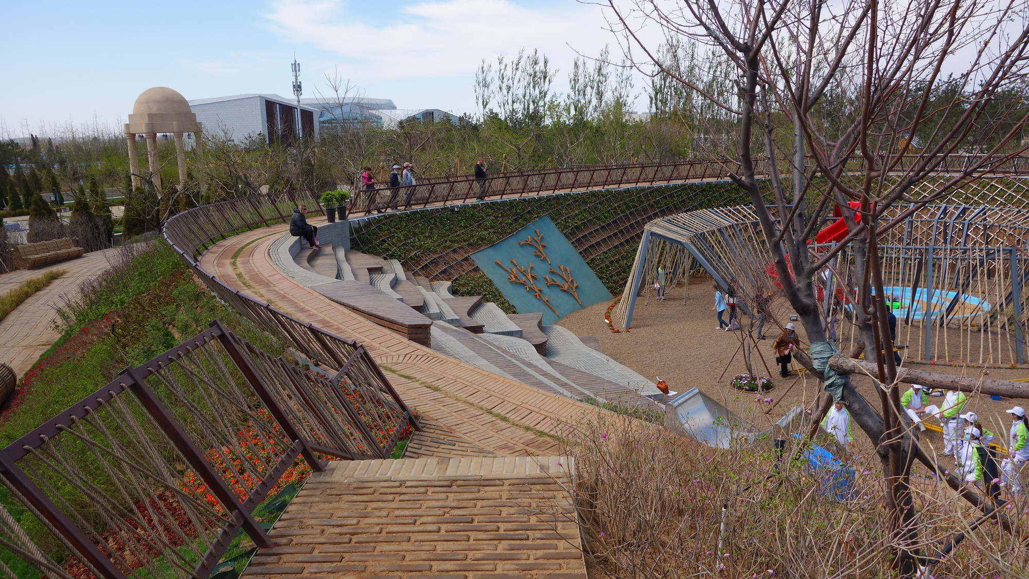 Arquitectura y Paisaje: Droplet Garden, variedad e irregularidad de la topografía colombiana proyectada en China, Courtesy of Diana Wiesner