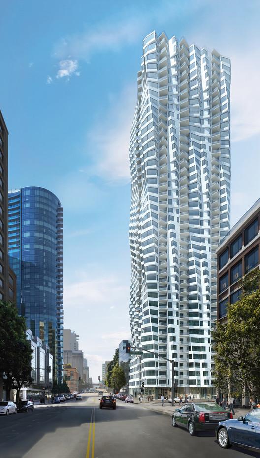 Folsom Tower / Studio Gang, Courtesy of Studio Gang Architects