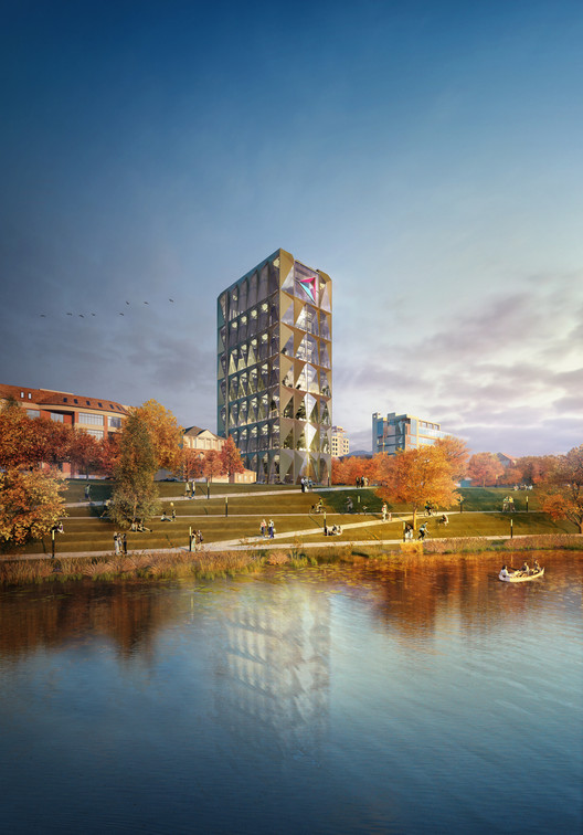 Foster + Partners Designs Headquarters for Copper Company in Russia, © Methanoia Courtesy of Foster + Partners