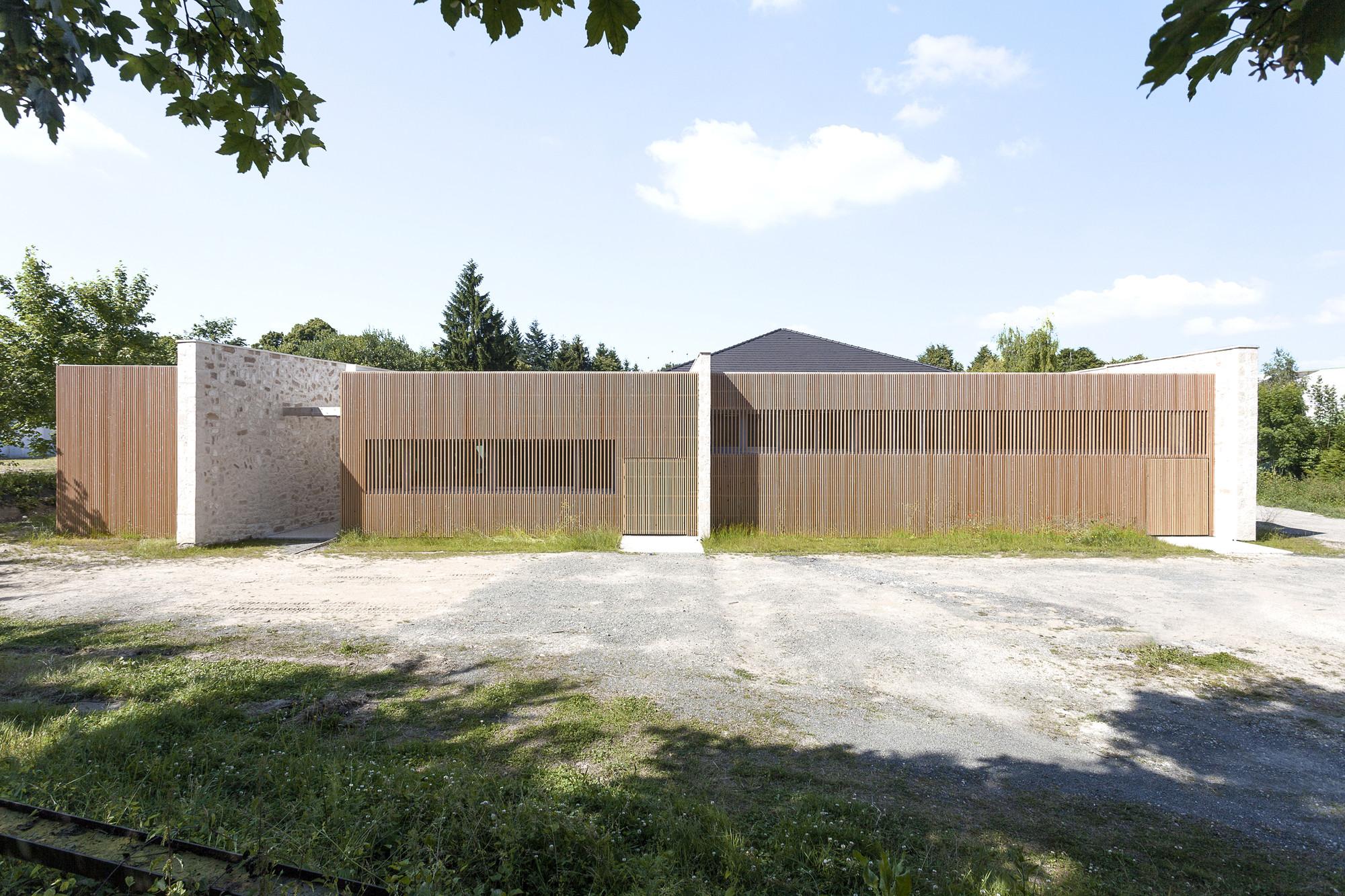 Centre Culturel Lesigny / Atelier208, © A. Leclercq