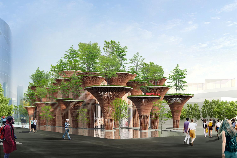 Expo Milan 2015: Pabellón vietnamita inspirado en la flor de loto / Vo Trong Nghia, Cortesía de Vo Trong Nghia Architects