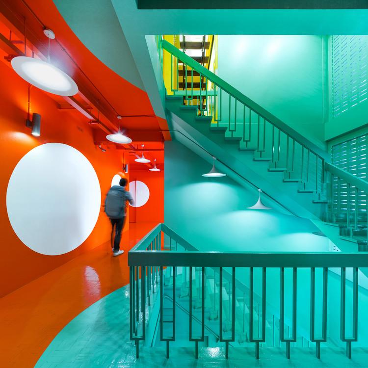 Yim Huai Khwang Hostel / Supermachine Studio, © Wison Tungthunya