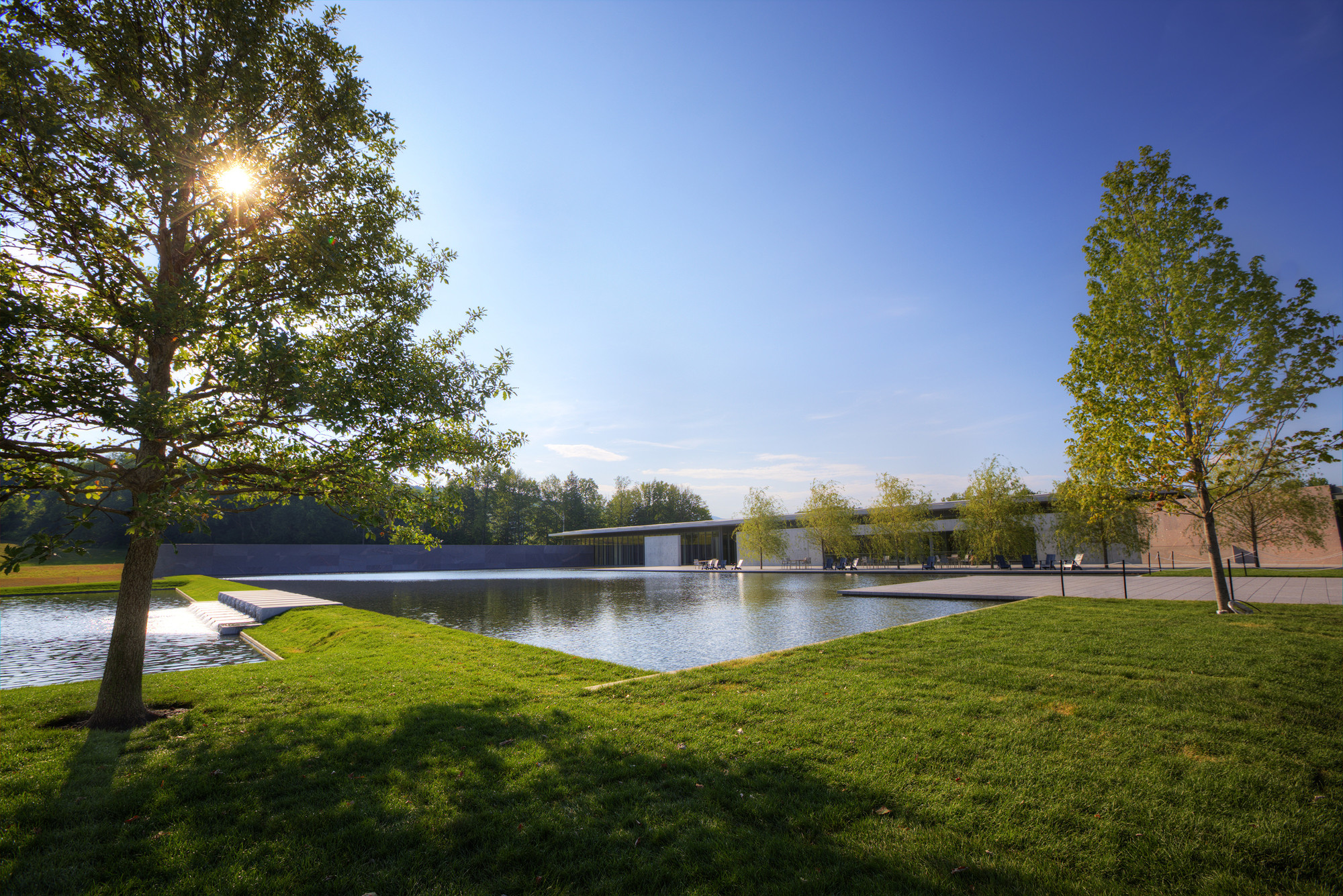Clark Art Institute / Tadao Ando Architect U0026 Associates + Selldorf  Architects + Reed Hilderbrand Landscape Architecture + Gensler