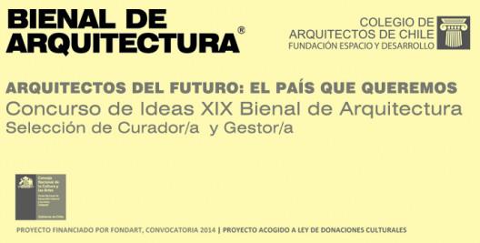 Se anuncia al equipo curador para próxima Bienal Chilena de Arquitectura y Urbanismo