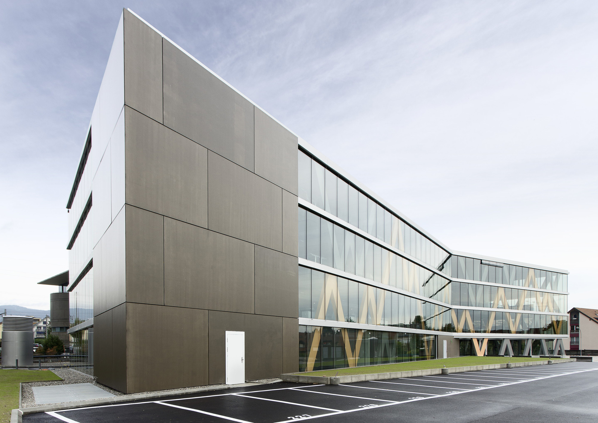 Swissquote Building in Gland  / Link architectes, © Swissquote Bank
