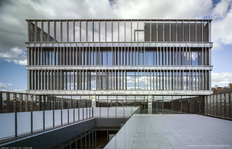 Building MAKRO / Enrique Bardají & Asociados, © Jesús Granada