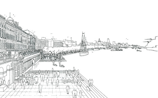 """""""London as it could be"""" / Rogers Stirk Harbour + Partners. Image © RSHP"""