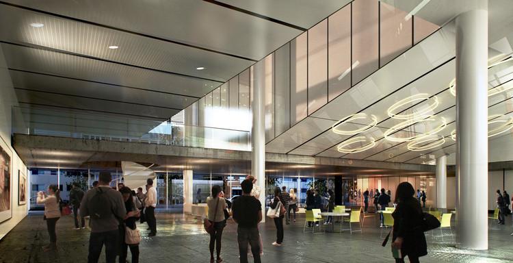 Terceiro lugar no concurso de ampliação do SENGE-RS / 0E1 Arquitetos + Jaqueline Lessa + MASA + Metropolitano Arquitetos + Valls Engenharia, Cortesia de Equipe do projeto